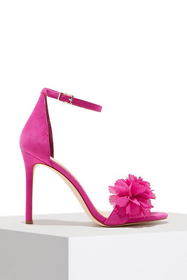 Display product reviews for Floral summer heel