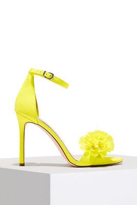 Floral summer heel