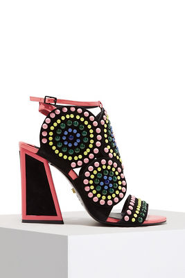 multicolor statement heel