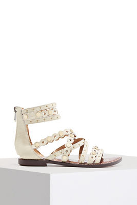 strappy studded sandal
