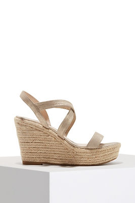 Espadrille wedge heel