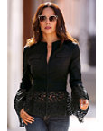 Lace Hem Jacket Photo