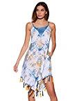 Tie-dye Tassel Dress Photo