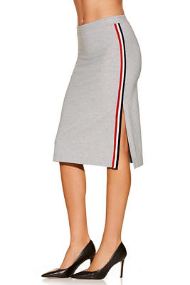 Racer stripe sport skirt