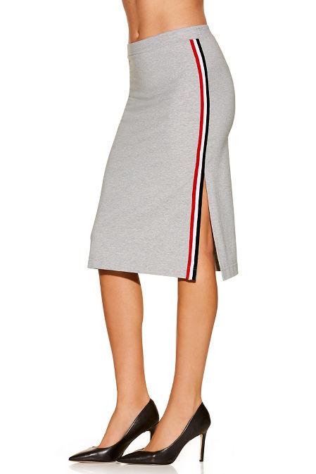 Racer stripe sport skirt image