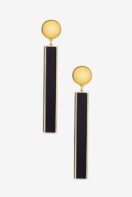 Bar statement earrings