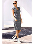 Plaid Military Sheath Dress Photo