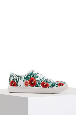 floral summer sneaker