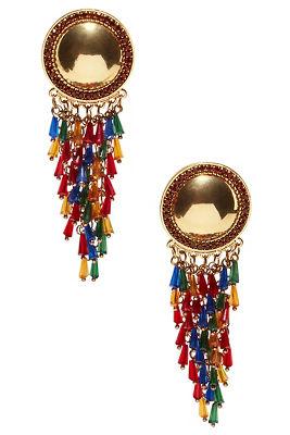 Mini tassel drop earrings
