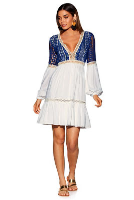 Crochet stitch dress