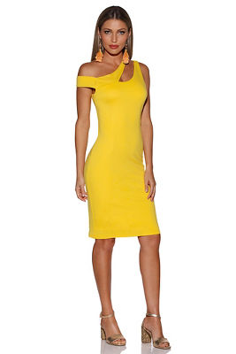 Cutout sheath dress