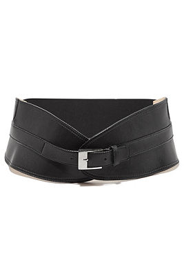 Wide fashion belt