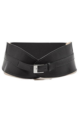 Wide fashion belt