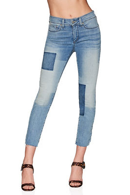 nydj™shadow patchwork ankle jean
