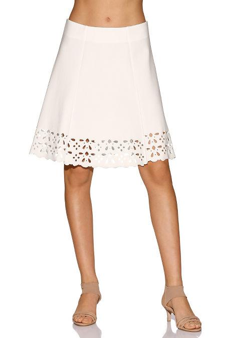 Beyond travel™ laser-cut skirt image