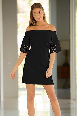 Beyond travel™ laser cut dress