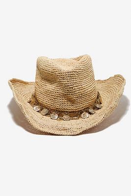 Gold coin cowboy hat