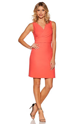 Display product reviews for Beyond travel™ cross-front dress