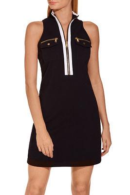 Display product reviews for Racerback chic zip dress