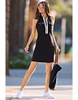 Racerback Chic Zip Dress Photo