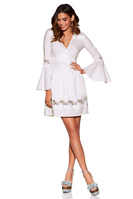 Display product reviews for Crochet surplice dress