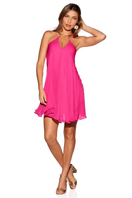 Hardware halter dress image
