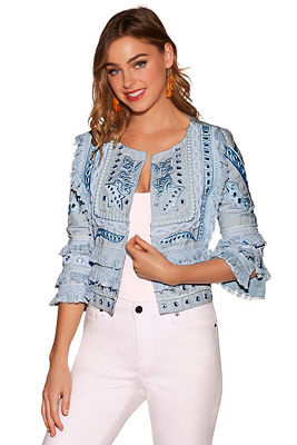 Fringe mirror jacket