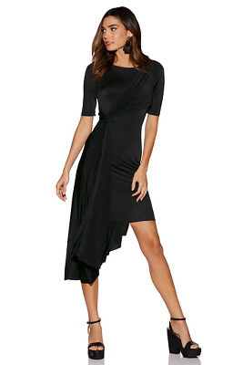 Asymmetric knotted dress