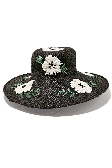 Embroidered beach hat image
