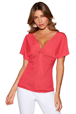 Reversible knot front top