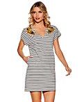 Stripe Embellished Sport Dress Photo