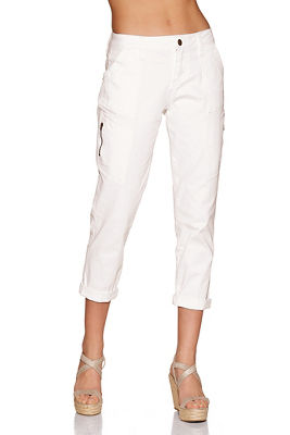 Zippered cargo pant
