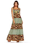 Nomad Camo Embellished Maxi Dress Photo