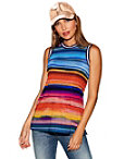 Sunset Stripes Tank Top Photo
