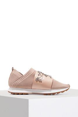 Embellished slip-on sneaker