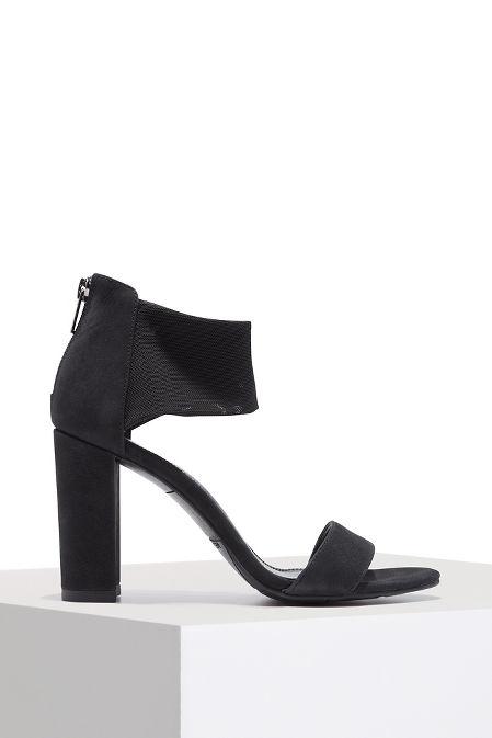 Mesh ankle travel heel image