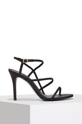 Strappy dress heel