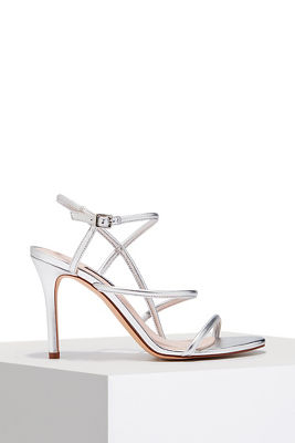 Strappy dress heel
