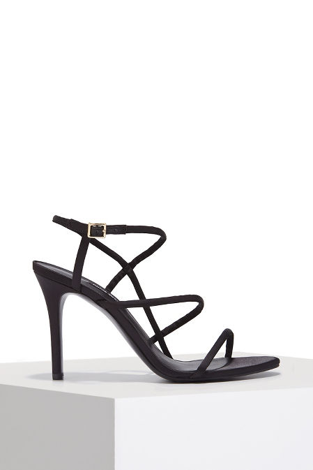 Strappy dress heel image