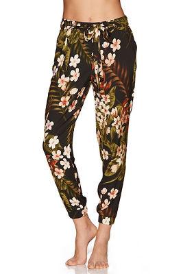 Floral lounge jogger