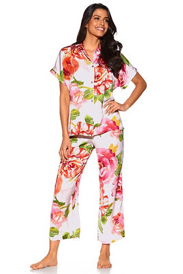 Floral summer PJ set