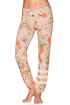 tropical floral sweatpant