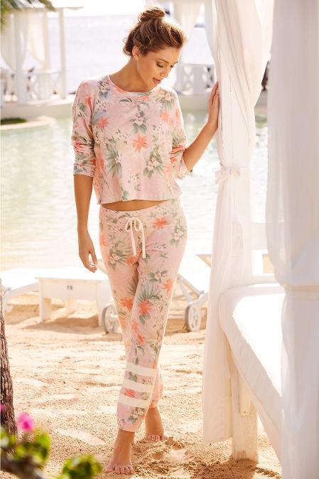 Tropical floral sweatshirt image