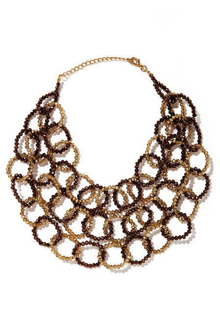Triple chainlink necklace image