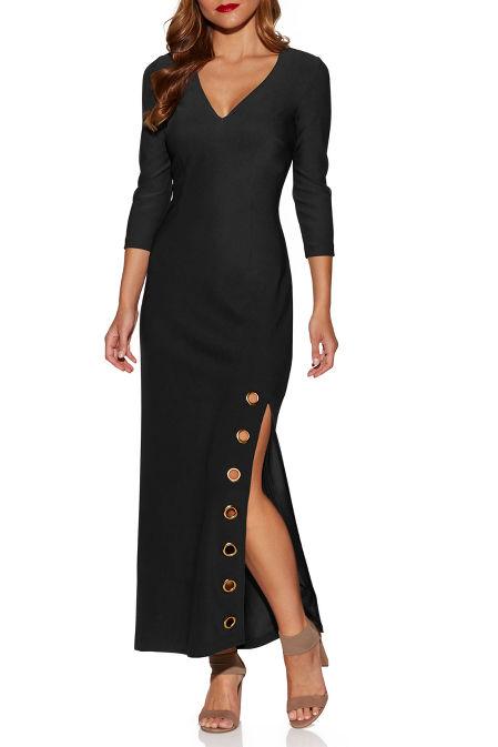 Beyond travel™ grommet maxi dress image