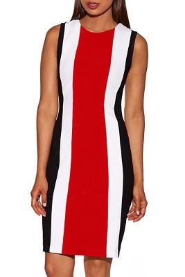 Beyond travel™ tri colorblock dress