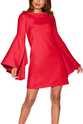Bell sleeve sport dress