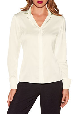 Button up charm blouse