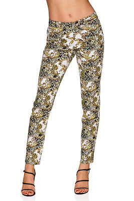 animal and scroll ankle pant
