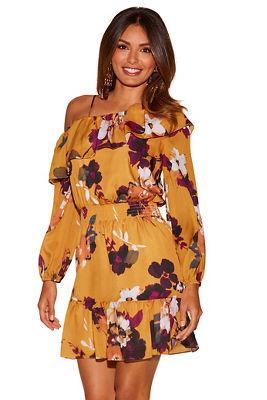 Asymmetric One-shoulder Dress